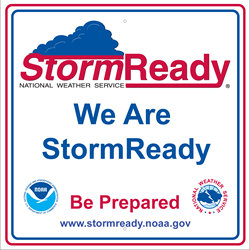 Storm Ready Sign Small