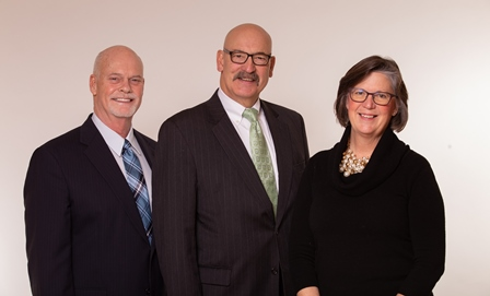Allen County Board of Commissioners: F. Nelson Peters, Richard E. Beck Jr. and Therese M. Brown